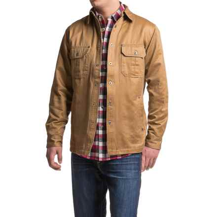 Dakota Grizzly Hunter Shirt - Snap Front, Long Sleeve (For Men) in Buck - Closeouts