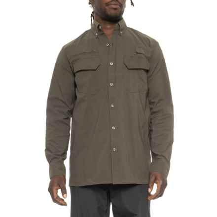 Dakota Grizzly Iguana Stretch Trail Shirt - UPF 30+, Long Sleeve ( For Men) in Iguana - Closeouts