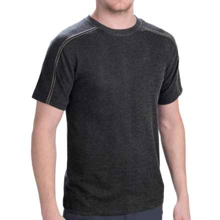 Dakota Grizzly Ike T-Shirt - Short Sleeve (For Men) in Graphite - Closeouts