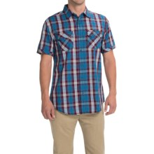 Dakota Grizzly Kai Shirt - Short Sleeve (For Men) in Ocean - Closeouts