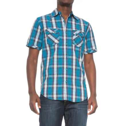 Dakota Grizzly Kai Shirt - Short Sleeve (For Men) in Stratus - Closeouts