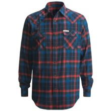 Dakota Grizzly Keaton Flannel Shirt - Long Sleeve (For Men) in Twilight - Closeouts