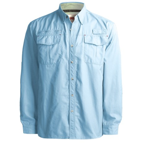 Dakota Grizzly Kenyon Quick-Dry Shirt - Long Sleeve (For Men) in Sky