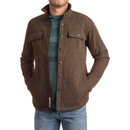 Dakota Grizzly Liam Quilted Jacket (For Men) in Bark - Closeouts