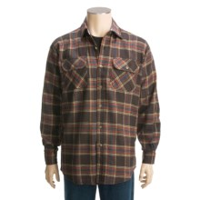 Dakota Grizzly Logger Flannel Shirt - Long Sleeve (For Men) in Java - Closeouts