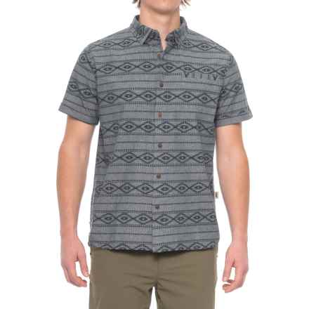 Dakota Grizzly Oakley Shirt - Short Sleeve (For Men) in Blueprint - Closeouts