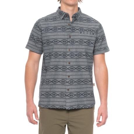 Dakota Grizzly Oakley Shirt - Short Sleeve (For Men) in Blueprint
