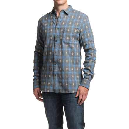 Dakota Grizzly Owen Dobby Flannel Shirt - Long Sleeve (For Men) in Dusk - Closeouts