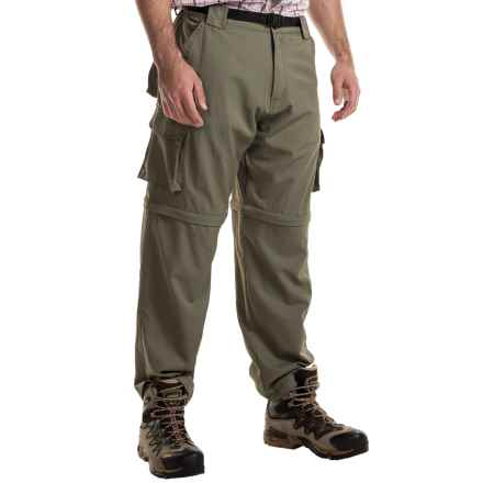Dakota Grizzly Parker Convertible Cargo Pants (For Men) in Iguana - Closeouts