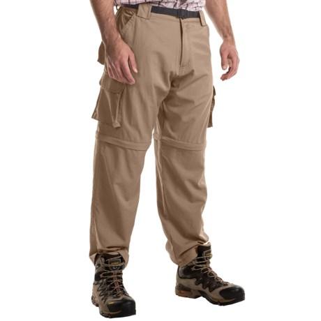 Dakota Grizzly Parker Convertible Cargo Pants (For Men) in Khaki