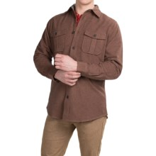 Dakota Grizzly Ranger Brushed Heathered Chamois Shirt - Long Sleeve (For Men) in Cocoa - Closeouts