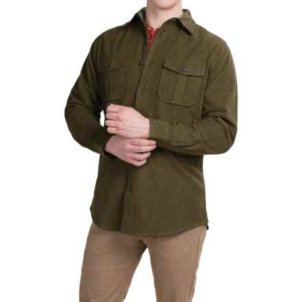 Dakota Grizzly Ranger Brushed Heathered Chamois Shirt - Long Sleeve (For Men) in Kale - Closeouts