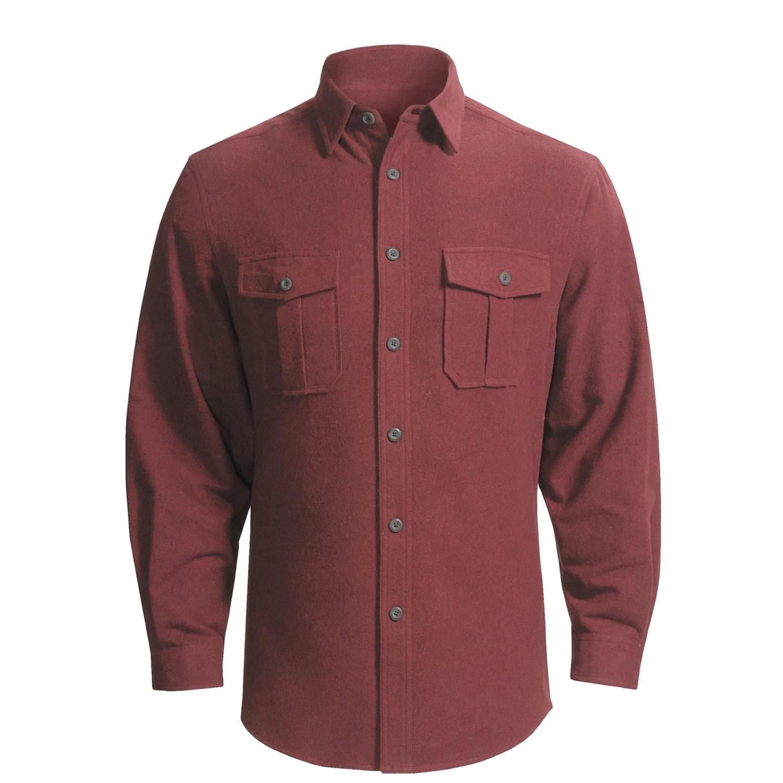 Dakota Grizzly Ranger Brushed Heathered Chamois Shirt ...
