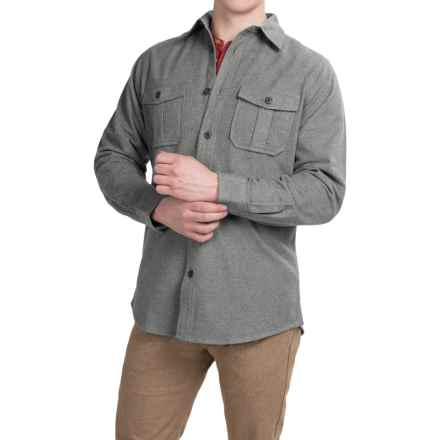 Dakota Grizzly Ranger Brushed Heathered Chamois Shirt - Long Sleeve (For Men) in Shadow - Closeouts