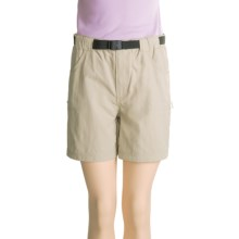 Dakota Grizzly River Shorts - Belted (For Women) in Khaki - Closeouts