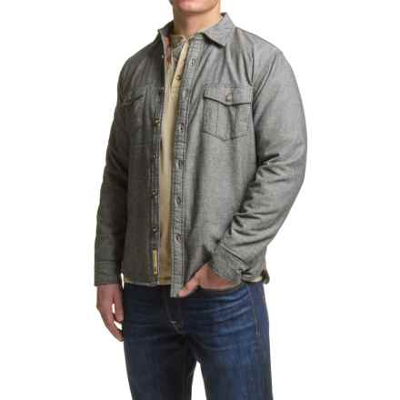 Dakota Grizzly Roderick Chambray Shirt - Flannel Lined, Long Sleeve (For Men) in Phantom - Closeouts