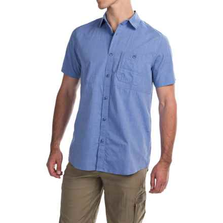 Dakota Grizzly Rutger Shirt - Short Sleeve (For Men) in Sky - Closeouts
