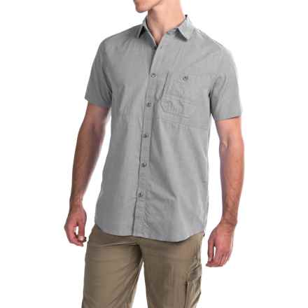 Dakota Grizzly Rutger Shirt - Short Sleeve (For Men) in Vapor - Closeouts
