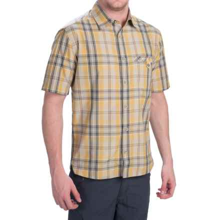 Dakota Grizzly Sawyer Shirt - Button Front, Short Sleeve (For Men) in Citrus - Closeouts