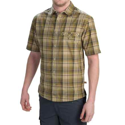 Dakota Grizzly Sawyer Shirt - Button Front, Short Sleeve (For Men) in Kiwi - Closeouts