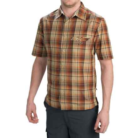 Dakota Grizzly Sawyer Shirt - Button Front, Short Sleeve (For Men) in Mango - Closeouts