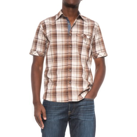 Dakota Grizzly Sawyer Shirt - Short Sleeve (For Men) in Earth