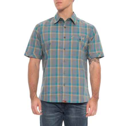 Dakota Grizzly Sawyer Shirt - Short Sleeve (For Men) in Granite - Overstock