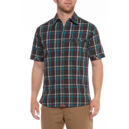 f82ddbf18d Dakota Grizzly Sawyer Shirt - Short Sleeve (For Men) in Java - Overstock