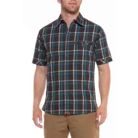 Dakota Grizzly Sawyer Shirt - Short Sleeve (For Men) in Java - Overstock
