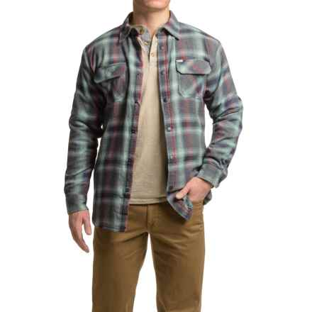 Dakota Grizzly Shayne Flannel Shirt - Long Sleeve (For Men) in Frost - Closeouts