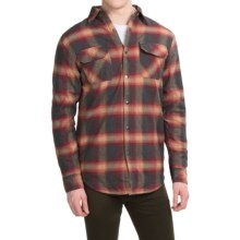 Dakota Grizzly Shayne Flannel Shirt - Long Sleeve (For Men) in Lava - Closeouts