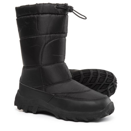 Dakota Grizzly Snow Scamp Winter Boots - Insulated (For Big Kids) in Black