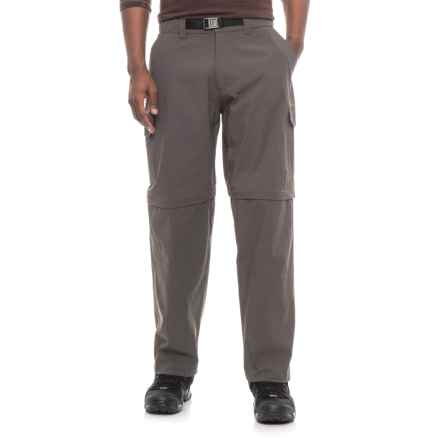 Dakota Grizzly Stretch Convertible Pants - UPF 30+ (For Men) in Carbon - Closeouts