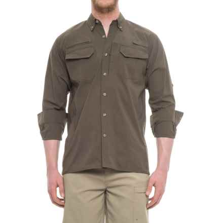 Dakota Grizzly Stretch Trail Shirt - UPF 30+, Long Sleeve (For Men) in Iguana - Closeouts