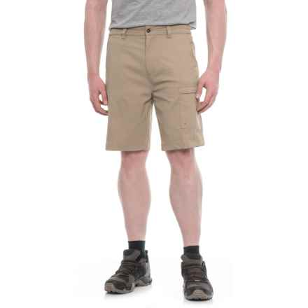 Dakota Grizzly Stretch Trail Shorts - UPF 30+ (For Men) in Khaki - Closeouts
