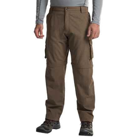 Dakota Grizzly Supplex® Nylon Convertible Pants (For Men) in Java - Closeouts
