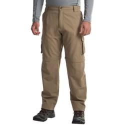 Dakota Grizzly Supplex® Nylon Convertible Pants (For Men) in Khaki