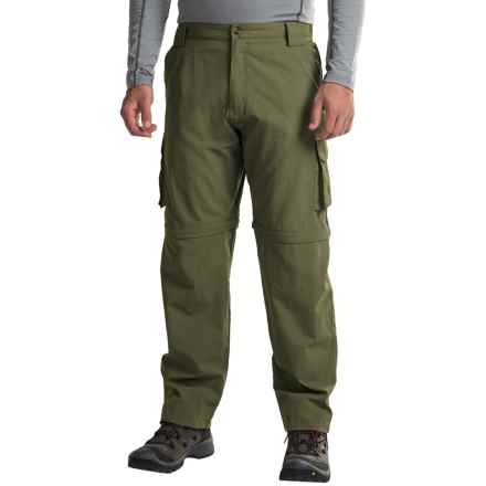 Dakota Grizzly Supplex® Nylon Convertible Pants (For Men) in Moss - Closeouts