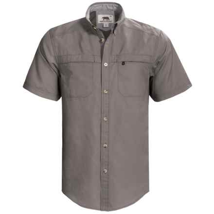 Dakota Grizzly Tildan Shirt - Short Sleeve (For Men) in Dolphin - Closeouts