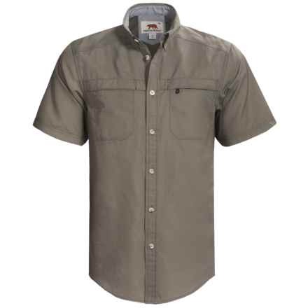 Dakota Grizzly Tildan Shirt - Short Sleeve (For Men) in Iguana - Closeouts