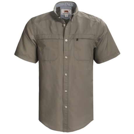 Dakota Grizzly Tildan Shirt - Short Sleeve (For Men) in Sky
