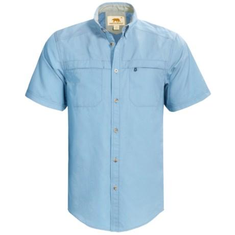 Dakota Grizzly Tildan Shirt - Short Sleeve (For Men) in Sky