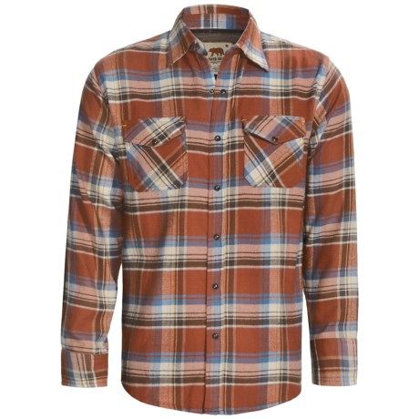 Dakota Grizzly Travis Flannel Shirt - Long Sleeve (For Men) in Moss