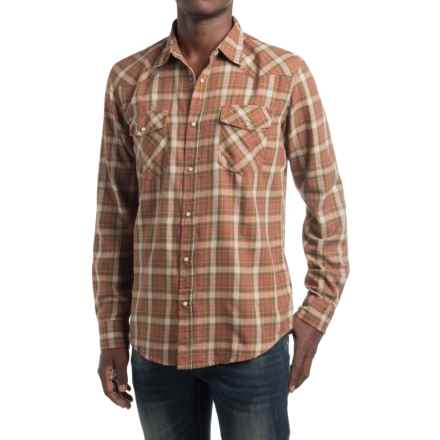 Dakota Grizzly Trevor Flannel Shirt - Snap Front, Long Sleeve (For Men) in Clay - Closeouts