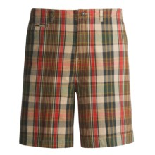Dakota Grizzly Wally Plaid Shorts (For Men) in Cactus - Closeouts