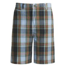 Dakota Grizzly Wally Plaid Shorts (For Men) in Ocean - Closeouts