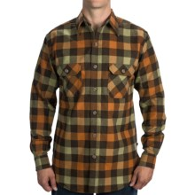 Dakota Grizzly Woodsman Flannel Shirt - Long Sleeve (For Men) in Autumn - Closeouts