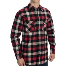 Dakota Grizzly Woodsman Flannel Shirt - Long Sleeve (For Men) in Fire - Closeouts