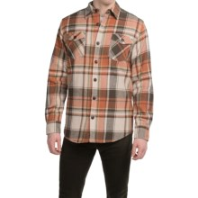 Dakota Grizzly York Herringbone Flannel Shirt - Long Sleeve (For Men) in Harvest - Closeouts