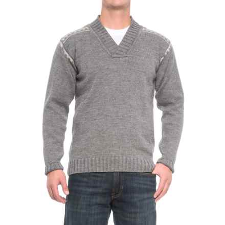 Dale of Norway Alpina Sweater - Wool (For Men) in Light Grey - Closeouts